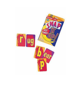 Learning Resources Snap It Up! Phonics & Reading Game