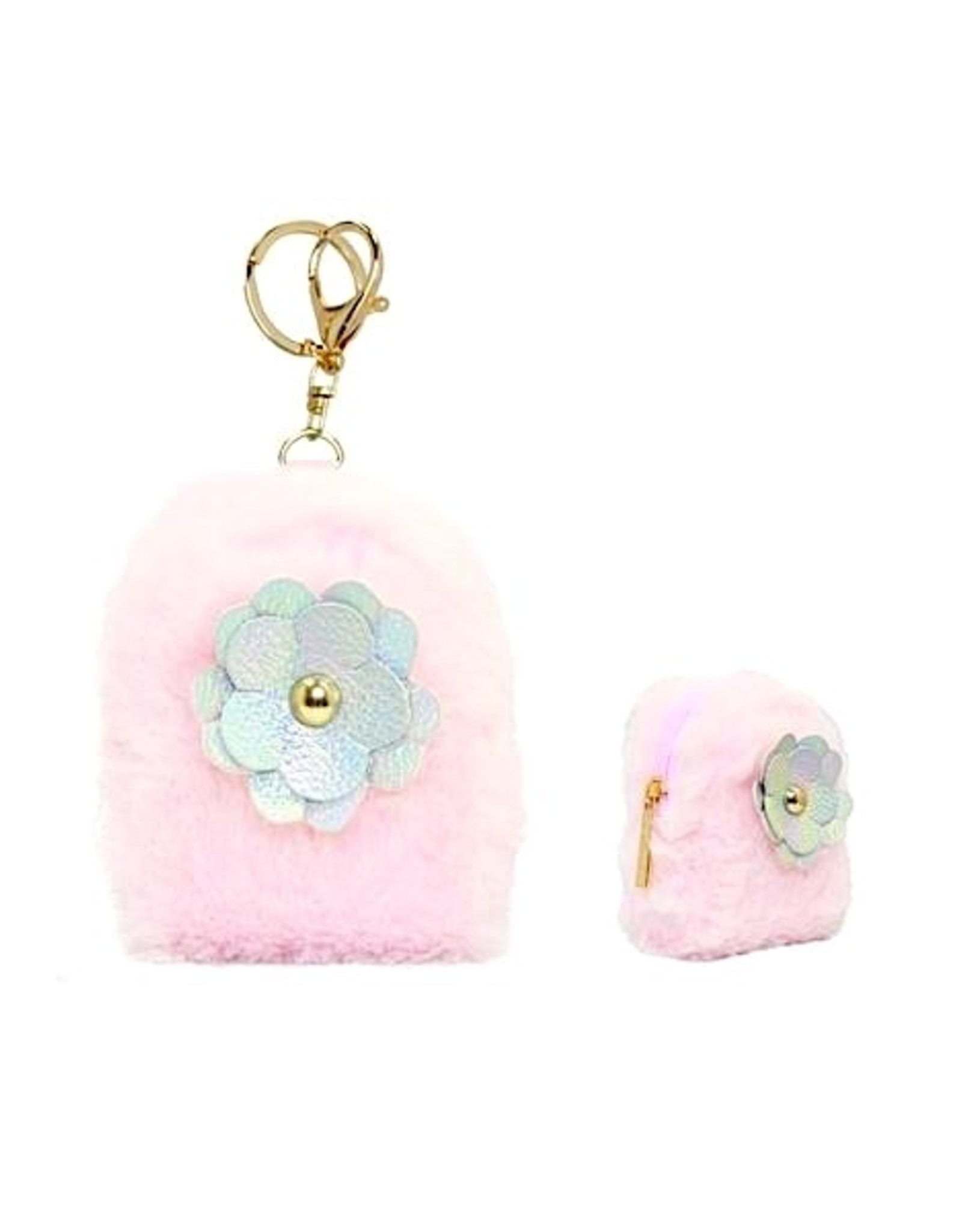 American Jewel Coin Bag w/ Flower
