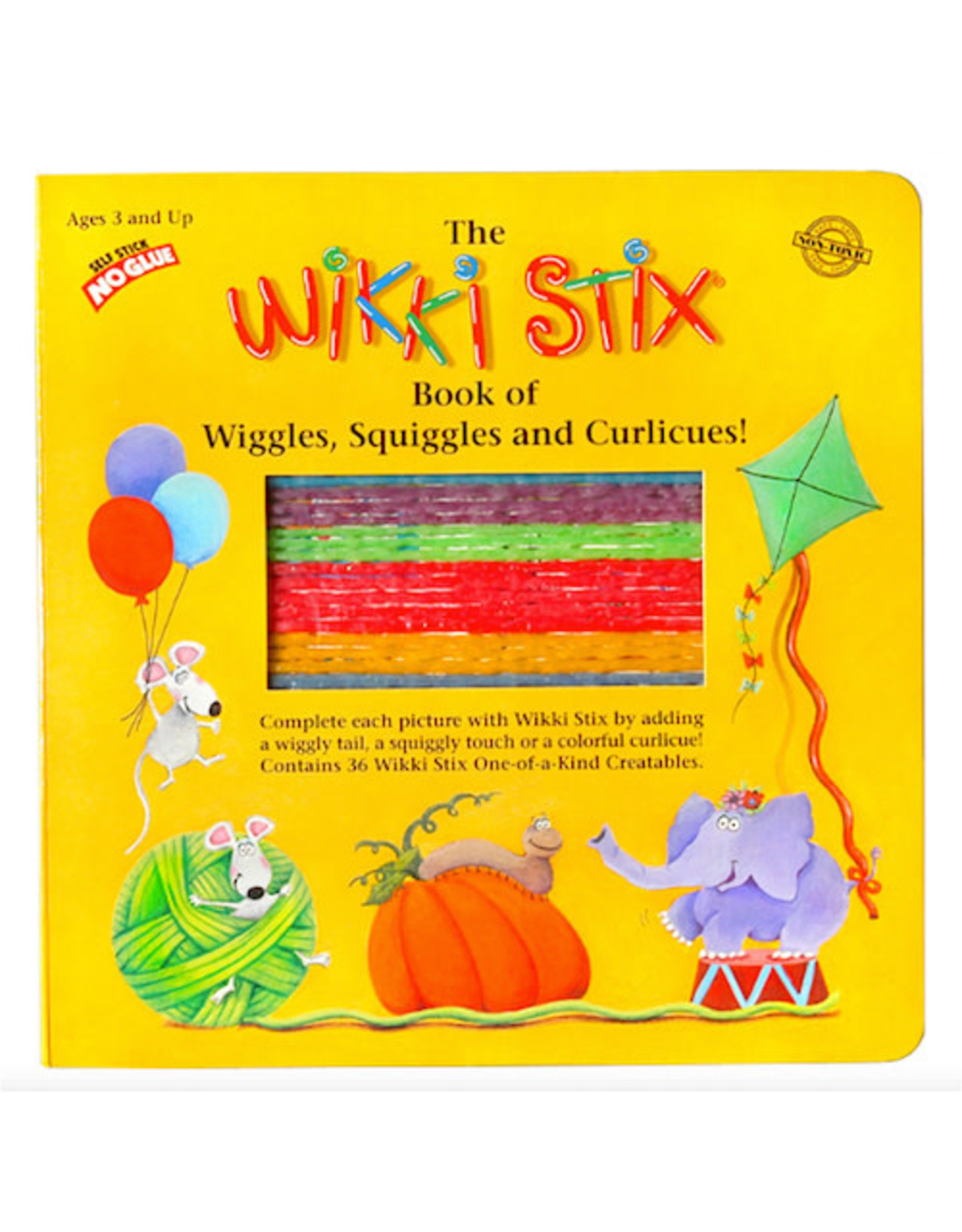 Wikki Stix BOOK OF WIGGLES, SQUIGGLES AND CURLICUES