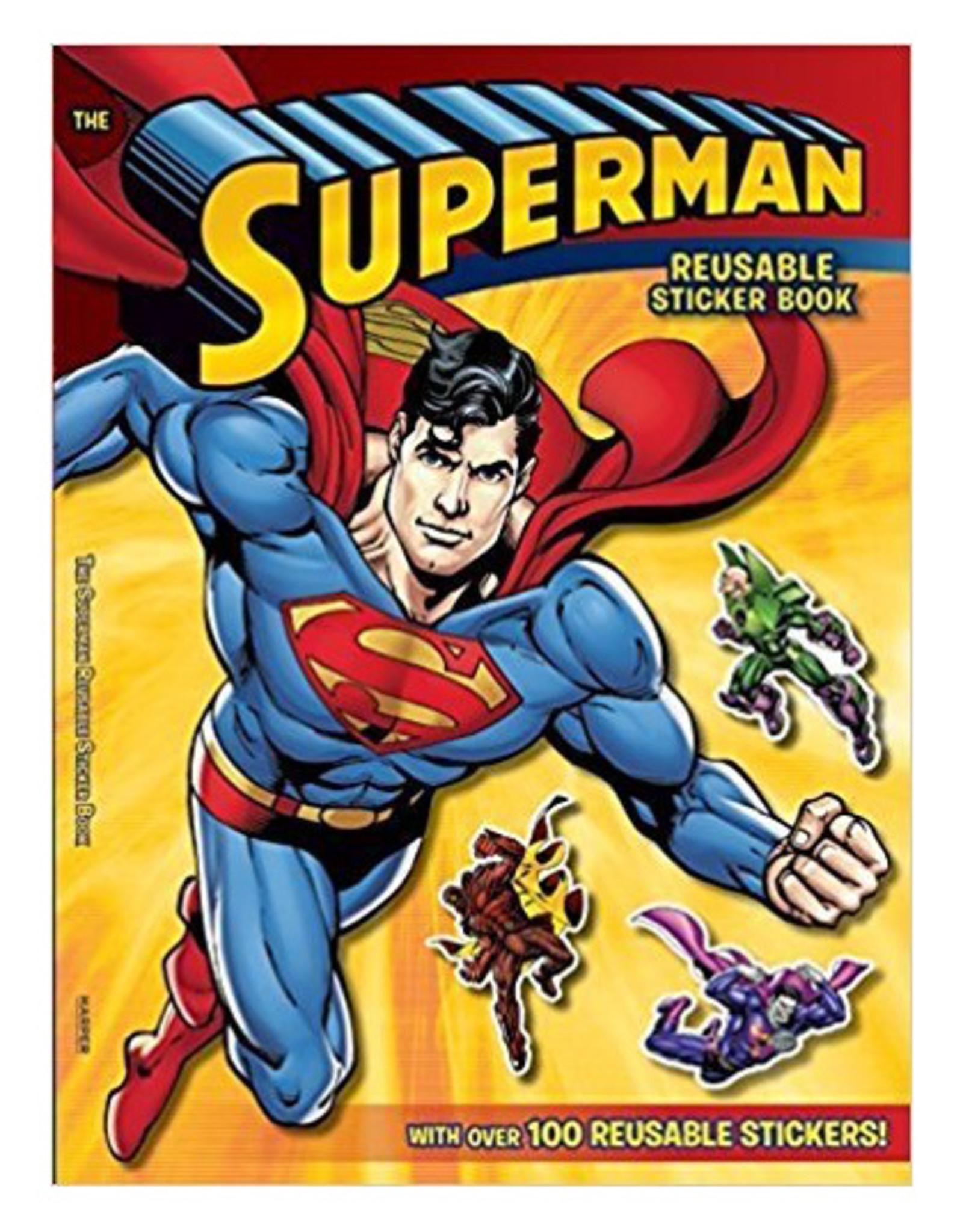 Harper Collins Superman Classic: The Superman Reusable Sticker Book