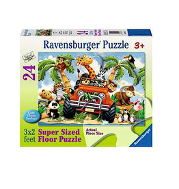 Ravensburger 4-Wheeling-24pc
