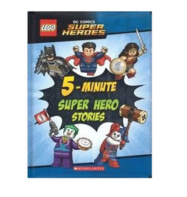 Scholastic Lego DC Super Heroes 5 min Stories