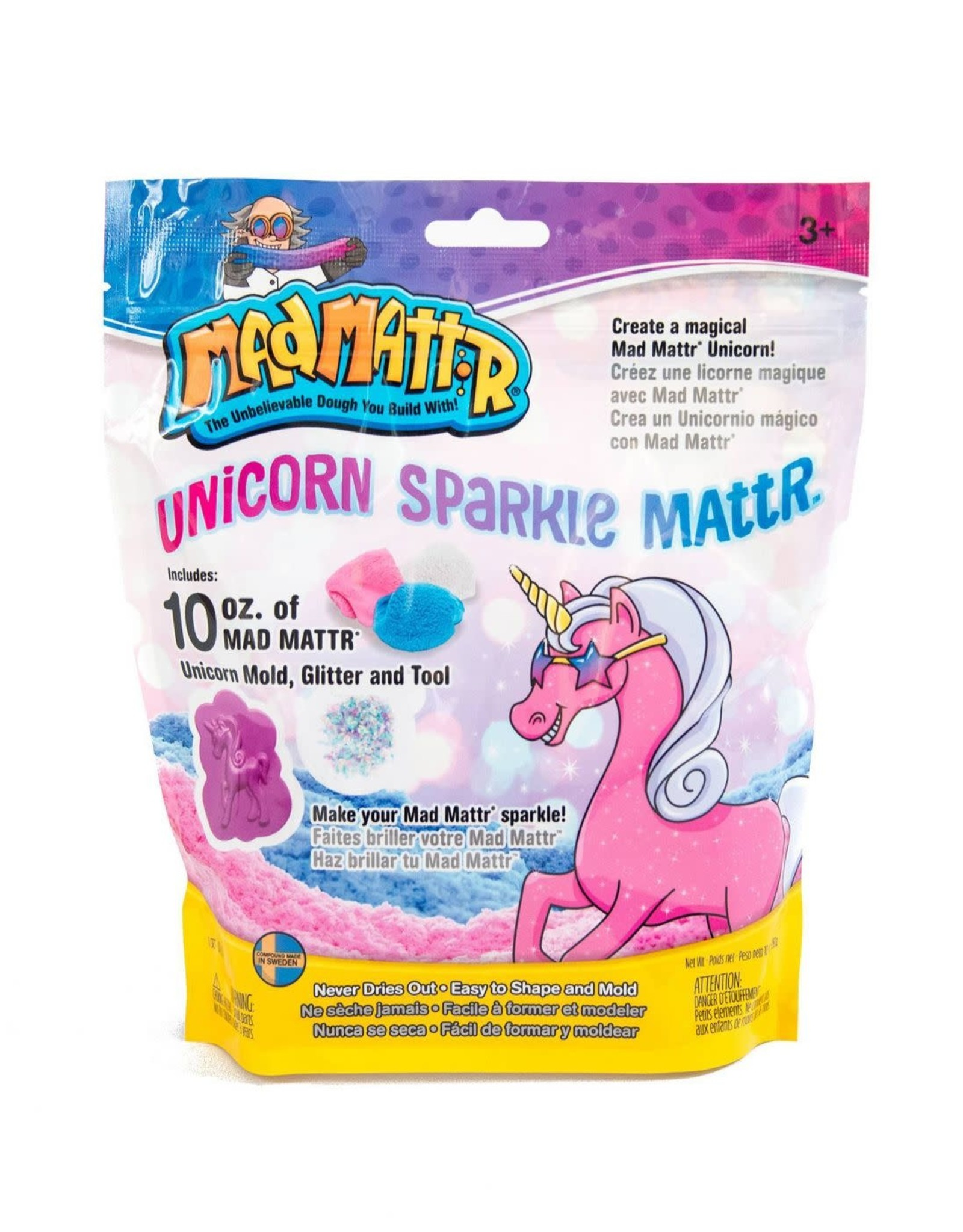 Relevant Play Mad Mattr Unicorn Sparkle