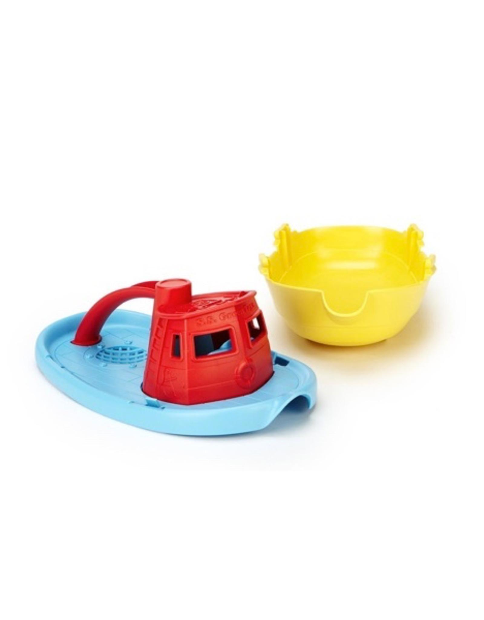 Green Toys Tug Boat -