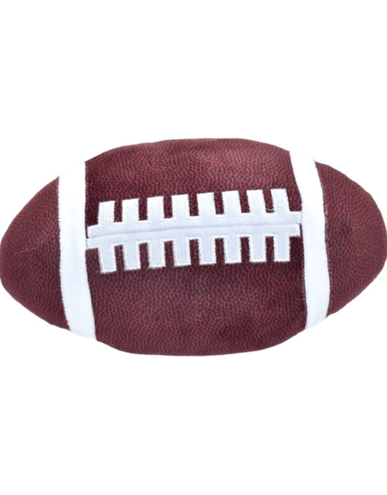 Iscream Football Microbead Pillow