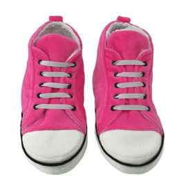 Iscream Pink Hi-Top Slippers Medium (4-6)