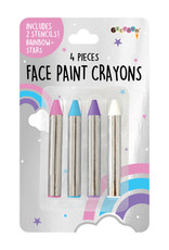 Iscream Face Paint Crayon Set