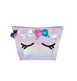 Iscream Unicorn Iridescent Overnight Bag