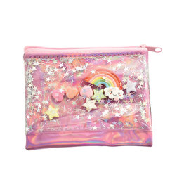 Iscream Rainbow Charm Coin Purse