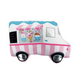Iscream Ice Cream Truck Vanilla Scented Microbead Pillow