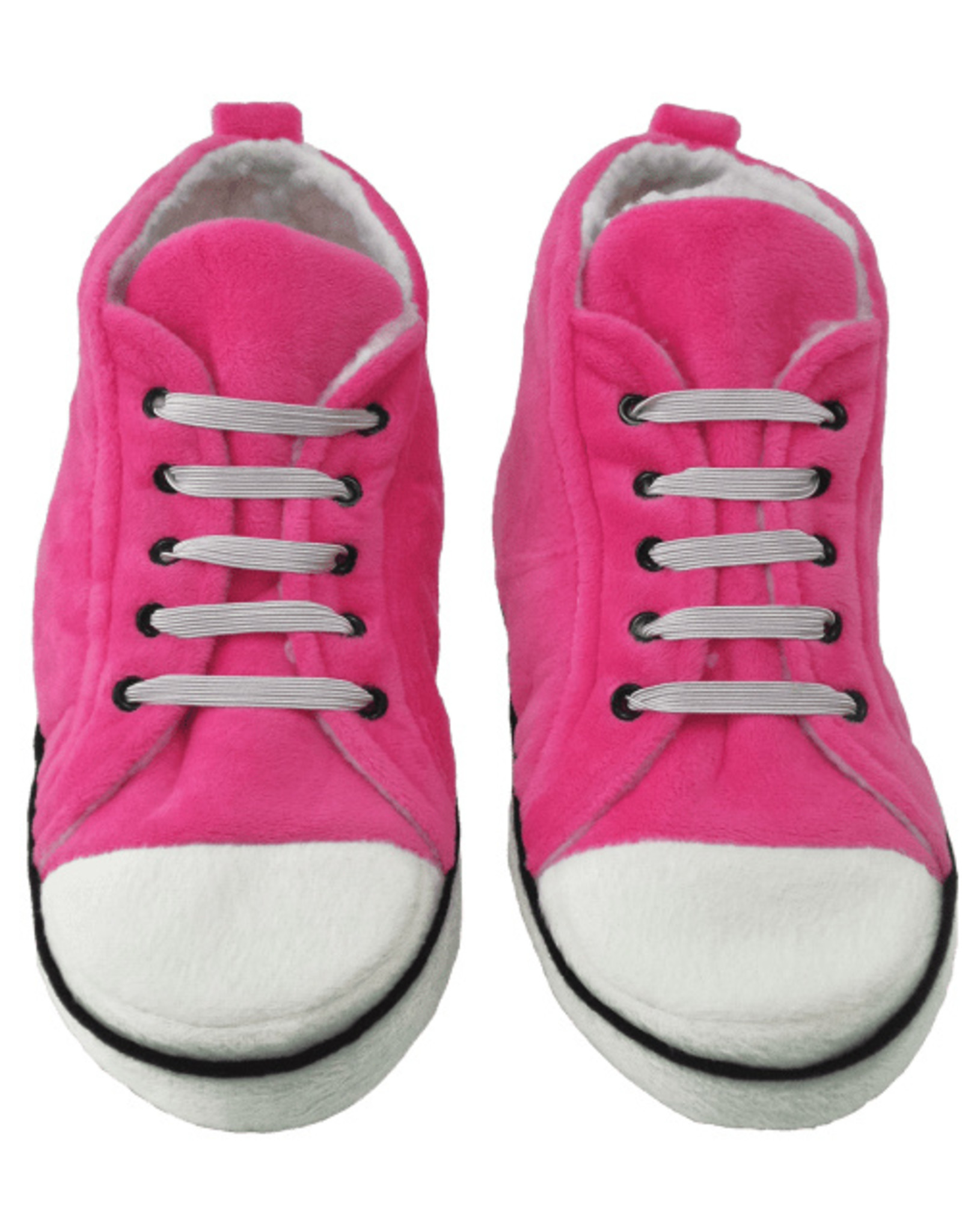 Iscream Pink Hi-Top Slippers Large (7-9)