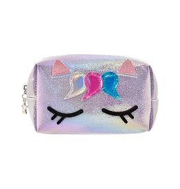 Iscream Unicorn Iridescent Cosmetic Bag