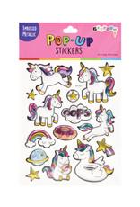 Iscream Unicorns Pop Up Sticker