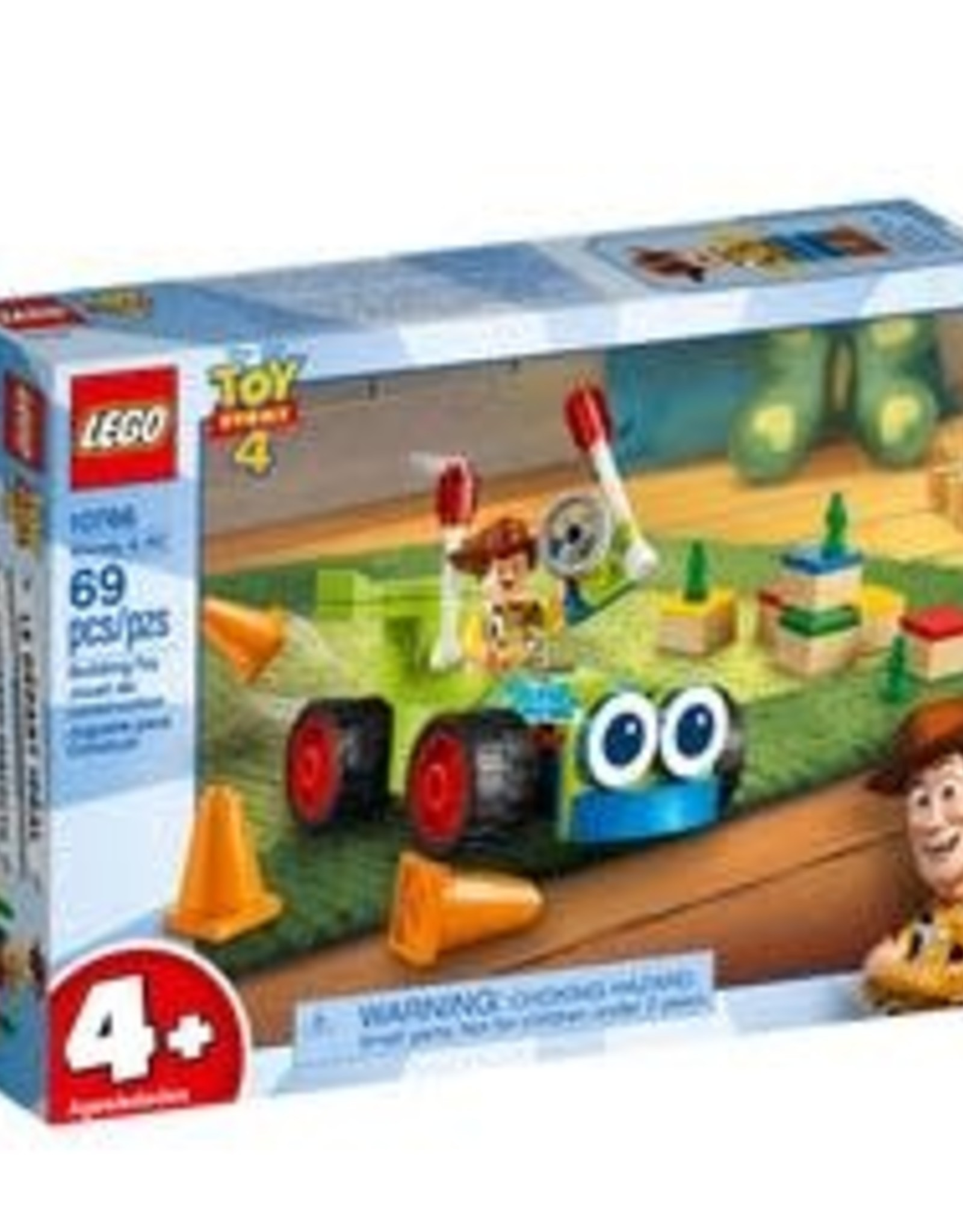 Lego Toy Story 4 Woody & Rc 4+