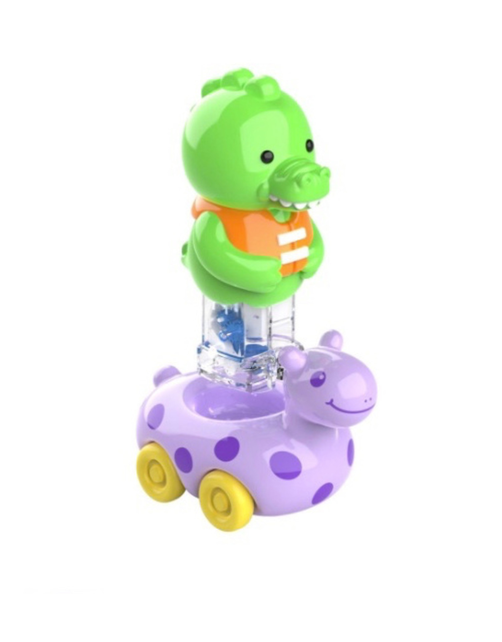 Educational Insights Zoomigos Alligator with Floatie Zoomer