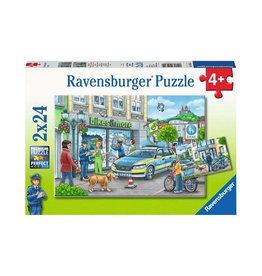 Ravensburger Police at Work! (2x24pc)