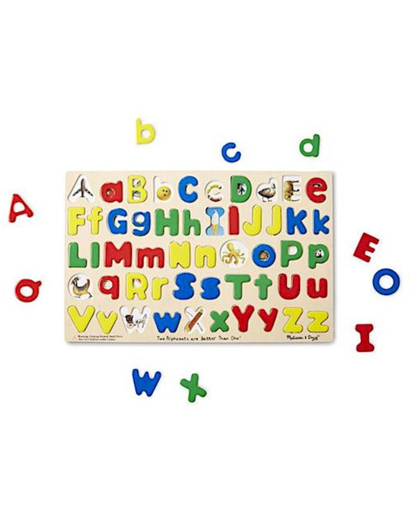 Melissa & Doug Upper and Lower Case Alphabet
