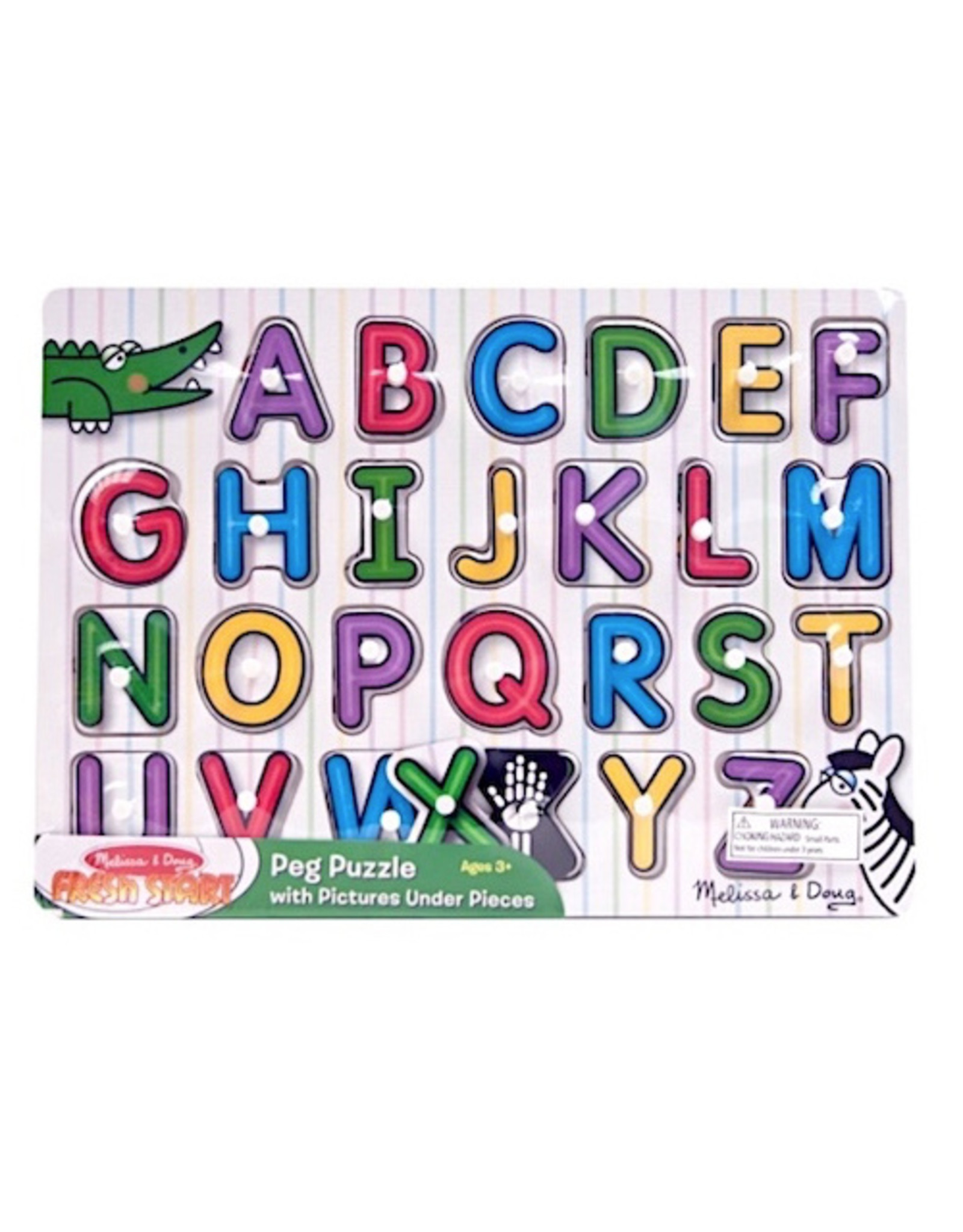 See-Inside Alphabet Peg Puzzle - Time 4 Toys