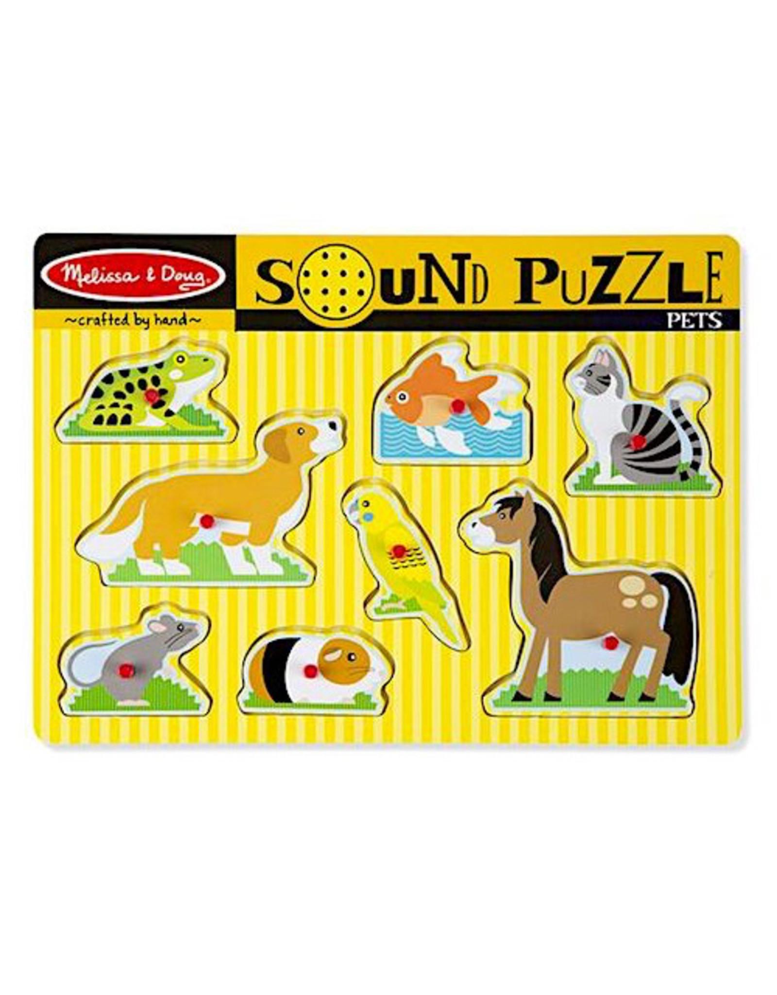 Melissa & Doug Sound Puzzle
