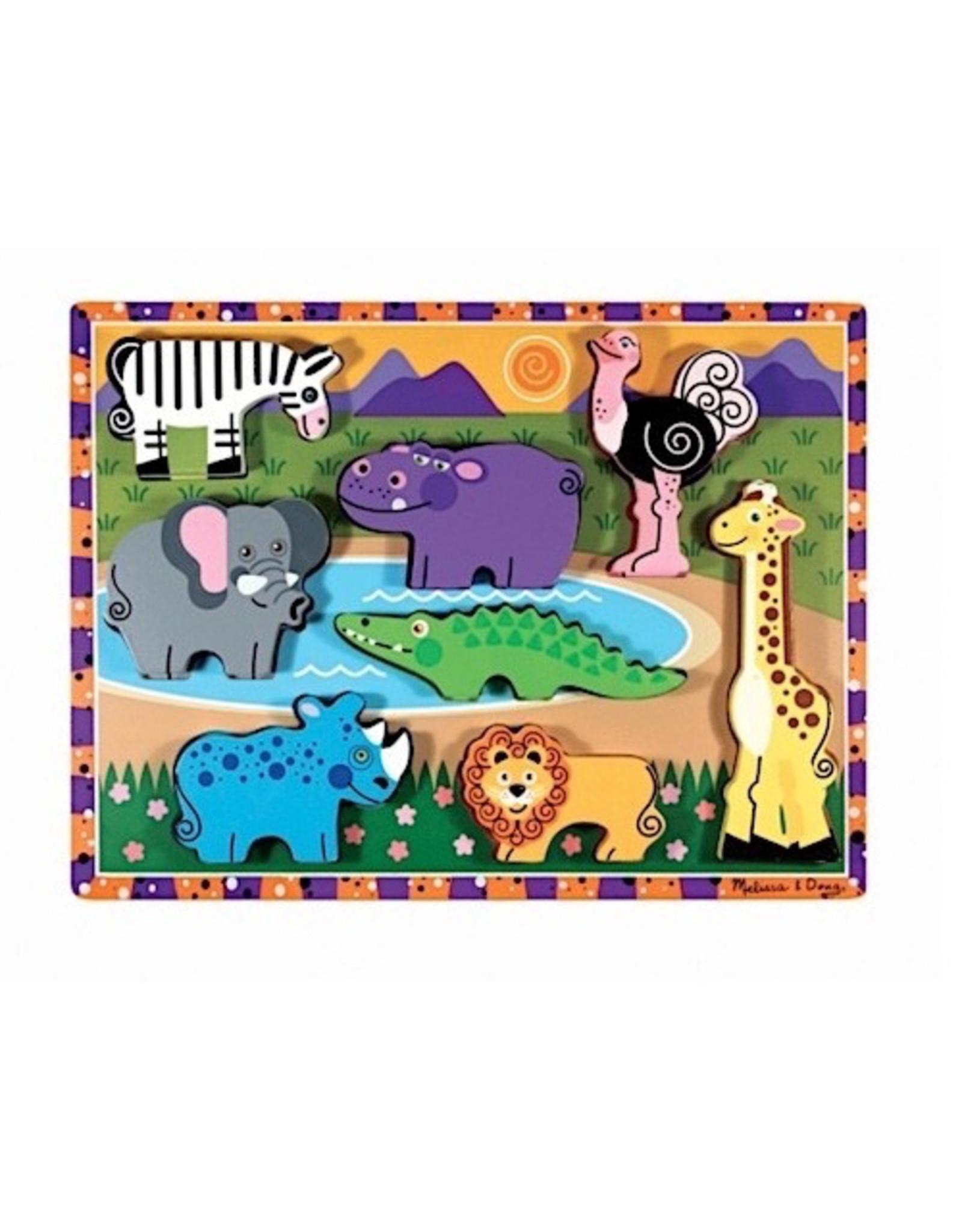 Melissa & Doug Chunky Jigsaw Puzzle