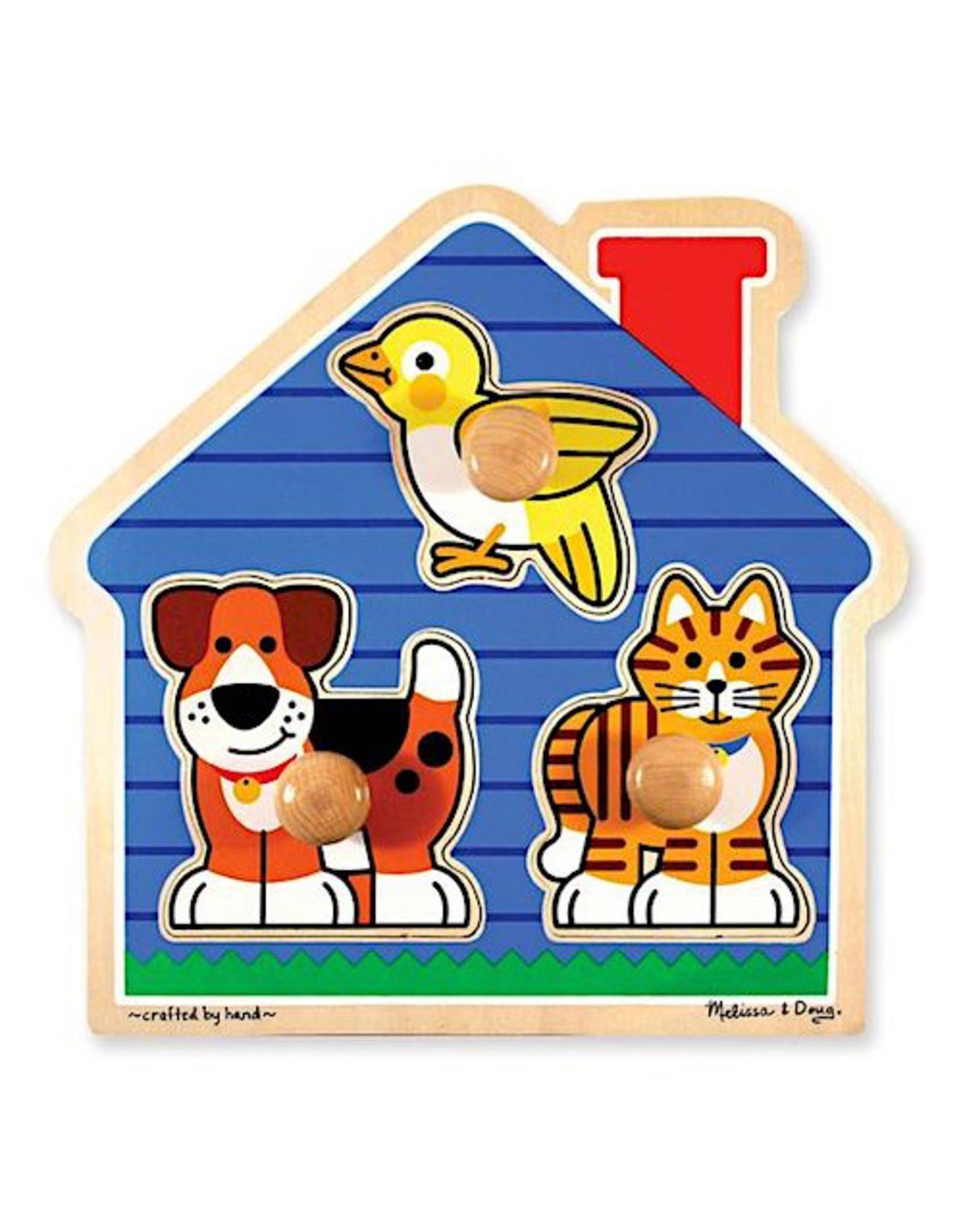 Melissa & Doug Jumbo Knob Puzzle