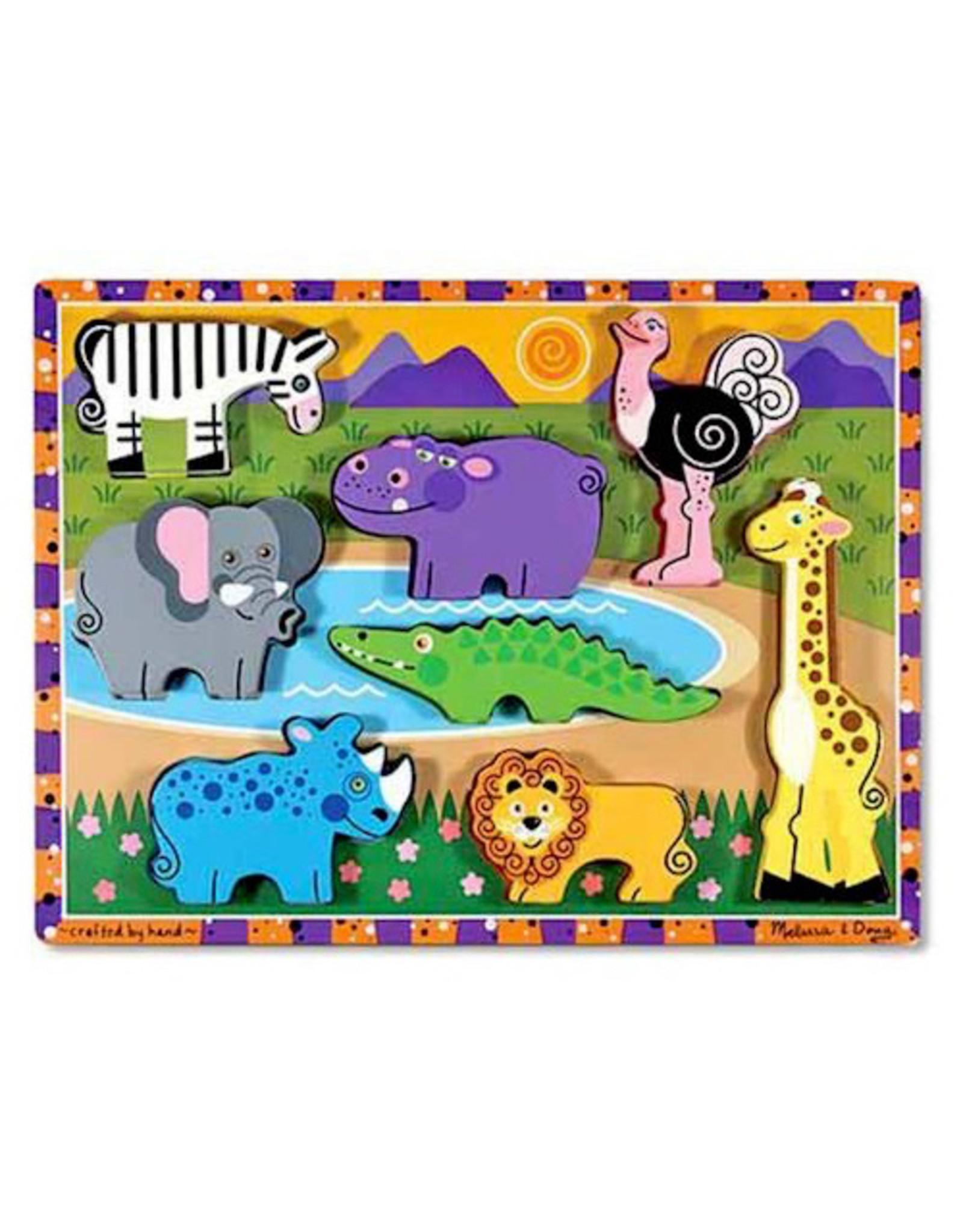 Melissa & Doug Chunky Puzzles