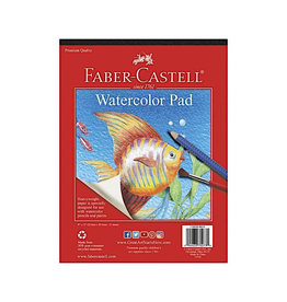 """Faber Castell Watercolor Pad 9"""" x 12"""