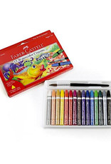 Faber Castell 15ct Watercolor Crayons w/ free brush