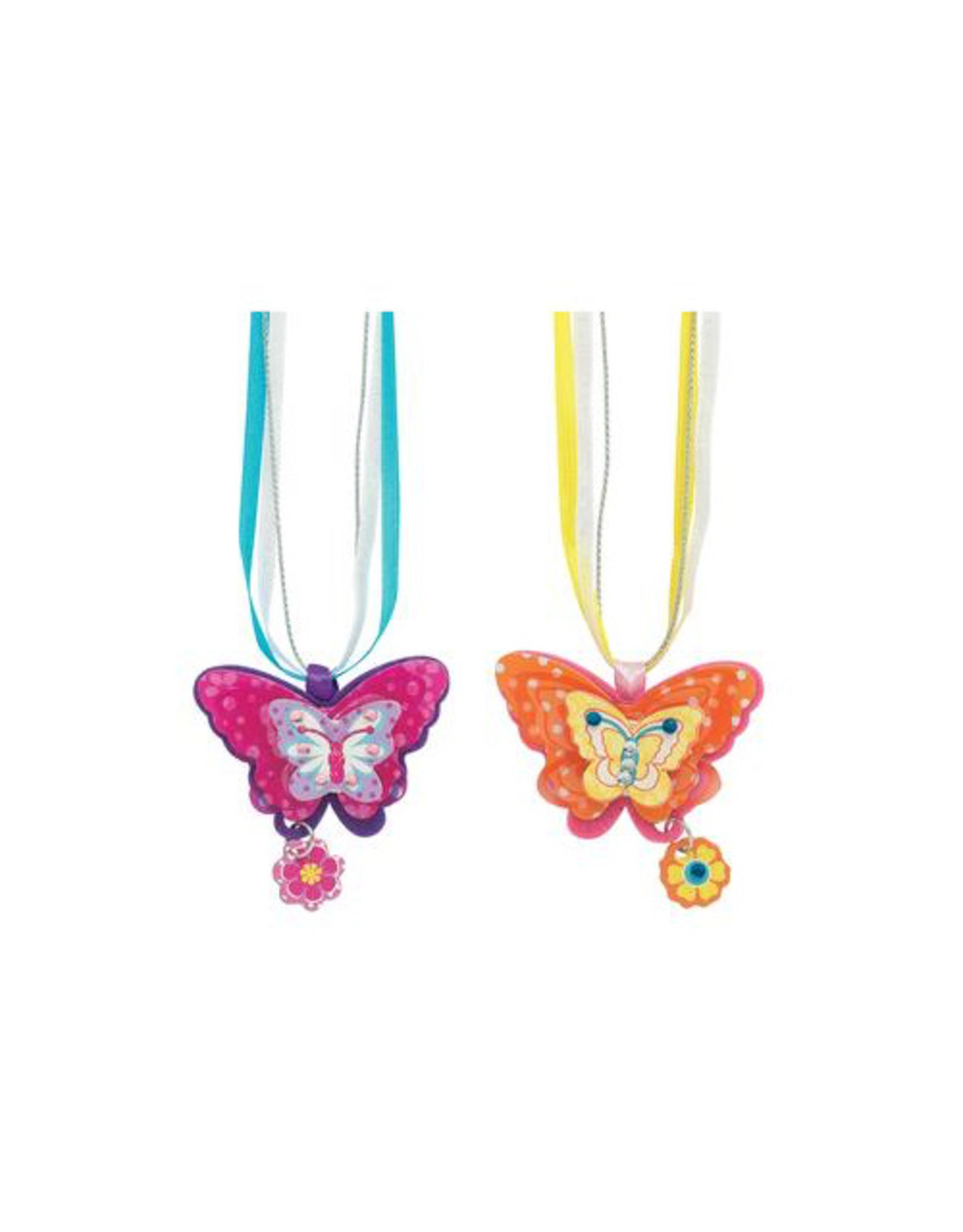Faber Castell Butterfly Necklaces