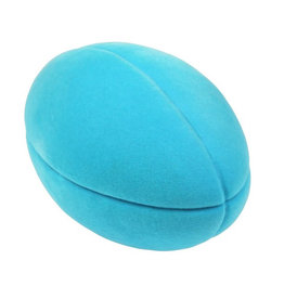 FOOTBALL TURQUOISE BLUE