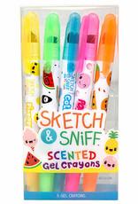 Sketch & Sniff Gel Crayon Sets