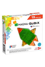 Magna Tiles Magna-Qubix 19 Piece Set