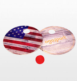 Ogosport Ogo Paddle Ball-American Flag