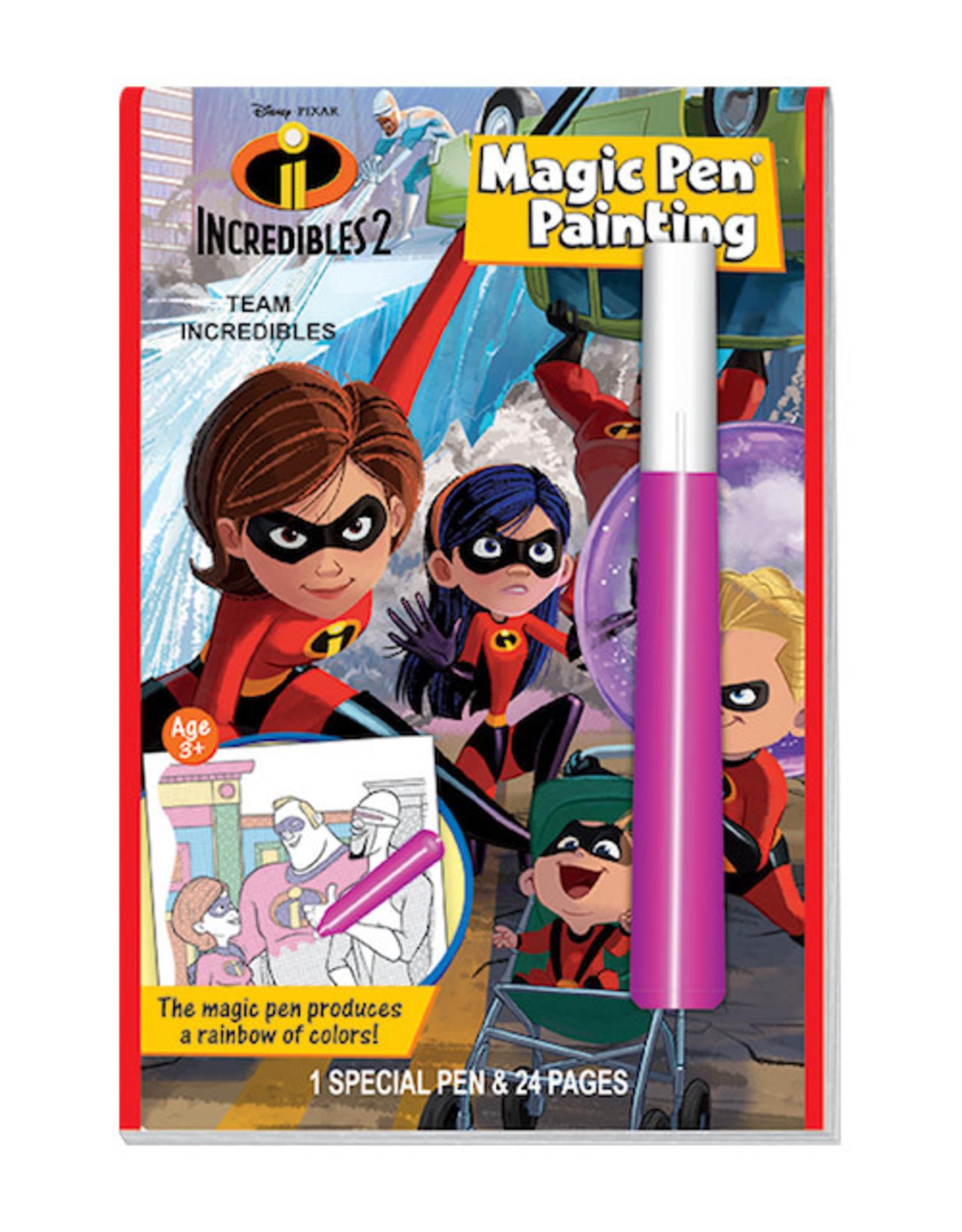 Incredibles Magic Pen Painting Book