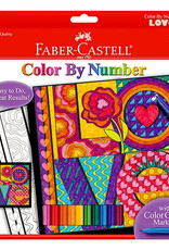 Faber Castell Color By Number LOVE