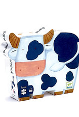 Djeco Silhouette Puzzles - The Cows On The Farm - 24pcs