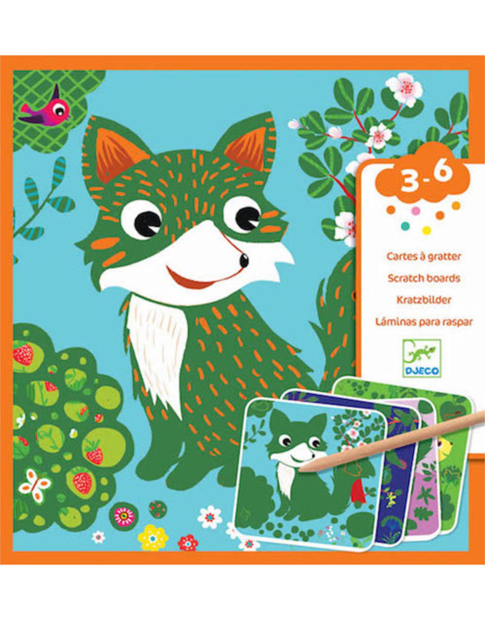 Djeco Scratch Cards