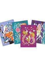 Djeco Glitter Boards - Mermaids