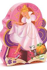 Djeco Silhouette Puzzles Cinderella - 36pcs