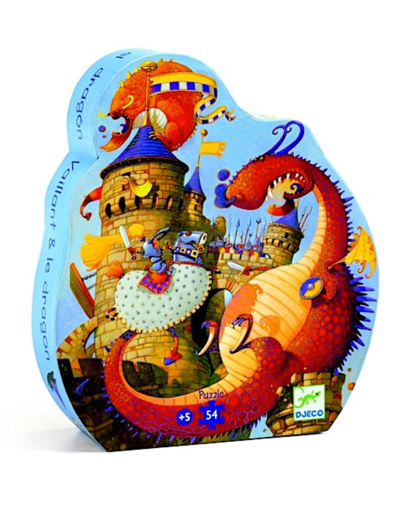 Djeco Silhouette Vaillant & Dragon