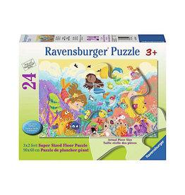 Ravensburger Splashing Mermaids-24pc