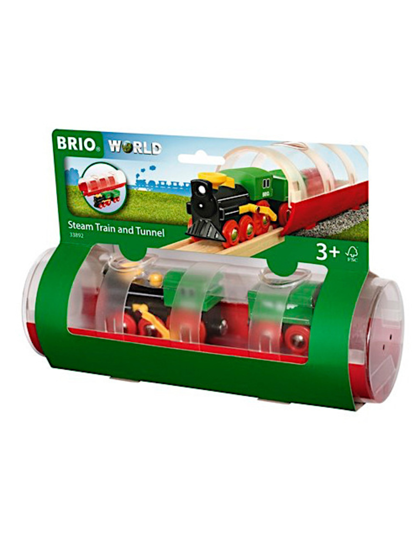 Brio Travel Train & Tunnel