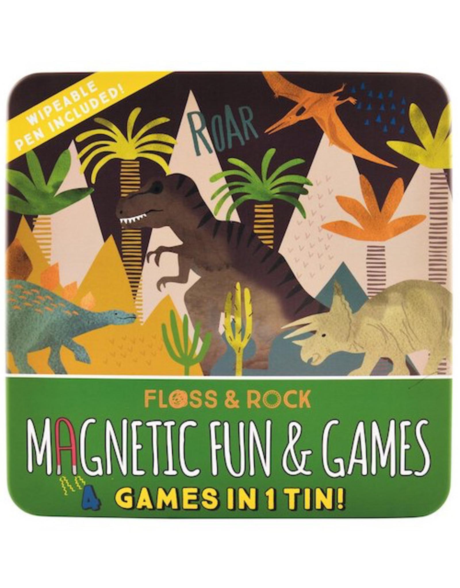 Iscream Magnet Game Dino