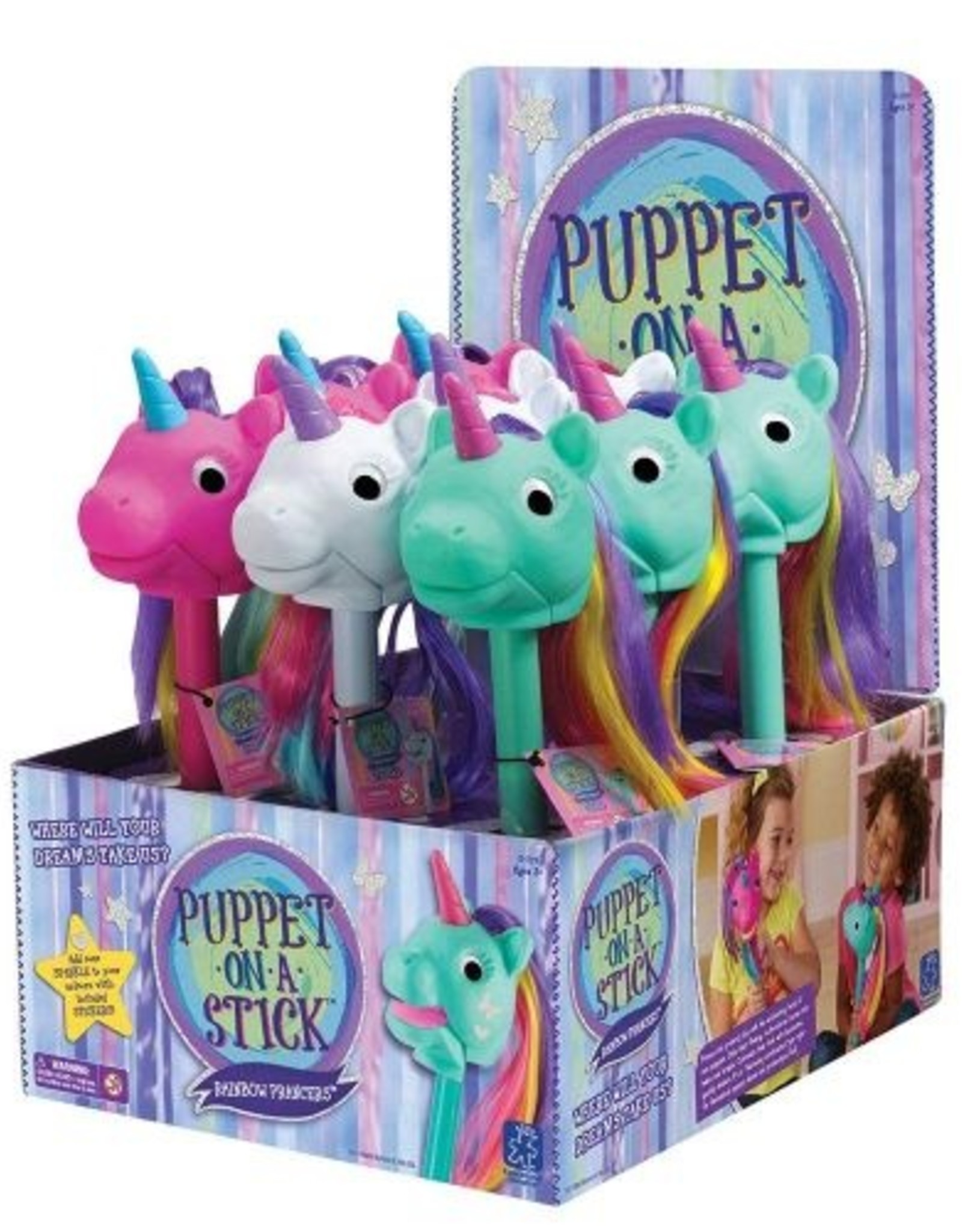 Educational Insights RAINBOW PRANCERS PUPPET-ON-A-STICK