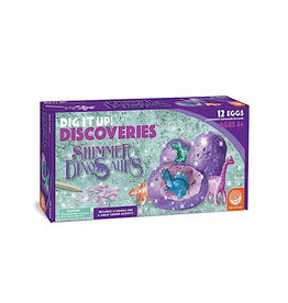 Mindware DIG IT UP!: DISCOVERIES: SHIMMER DINOSAURS