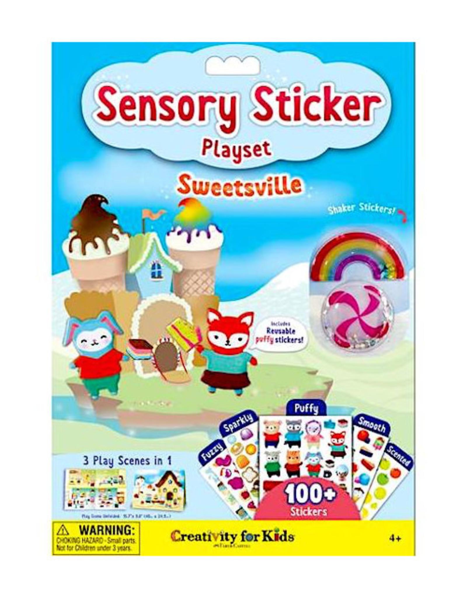 Faber Castell Sensory Sticker Playset Sweetsville