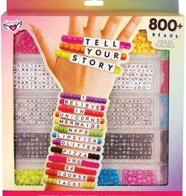 Fashion Angel Tell Your Story Alphabet Bead Case - Large
