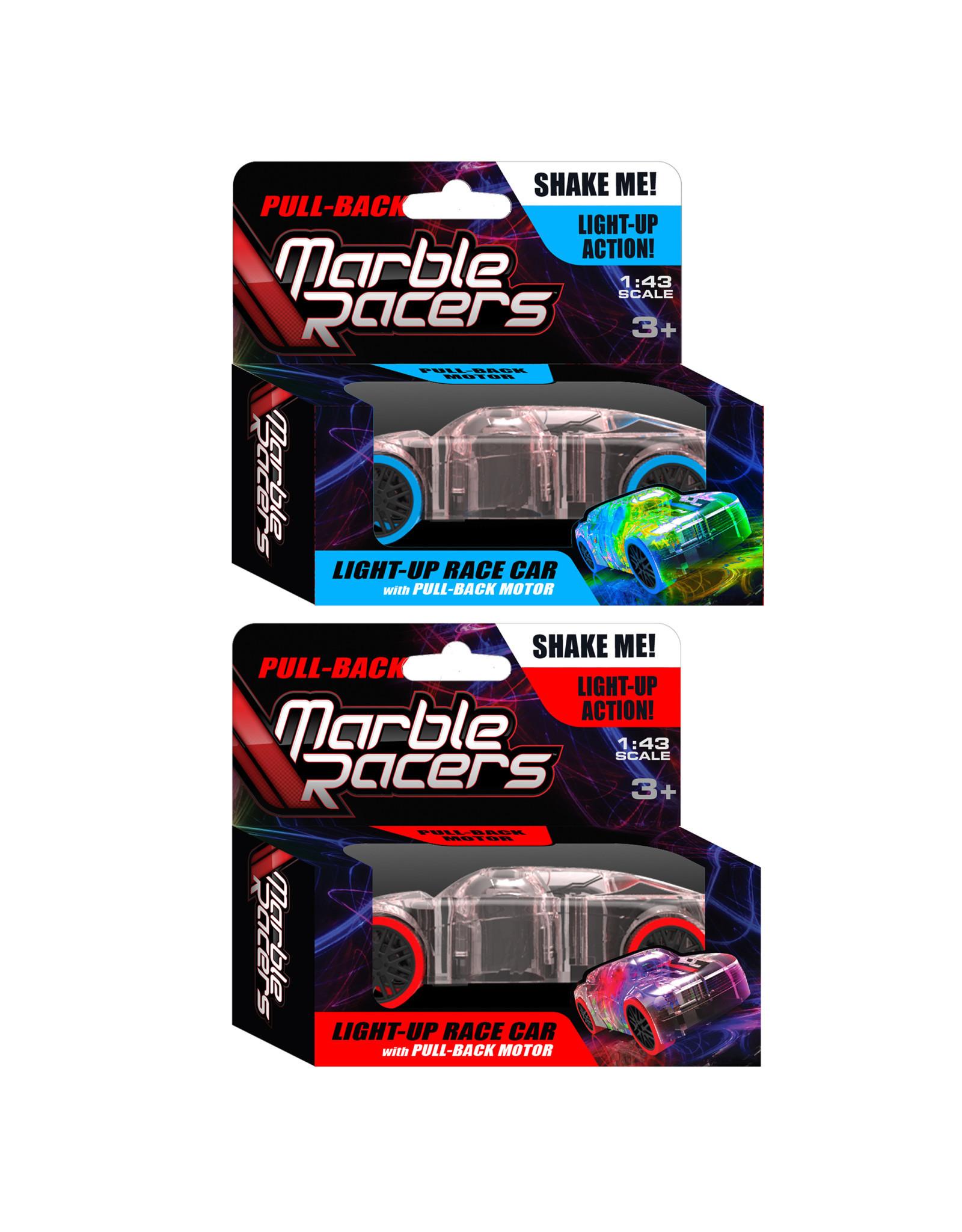 Skullduggery Marble Racer Pullback -2 Pack