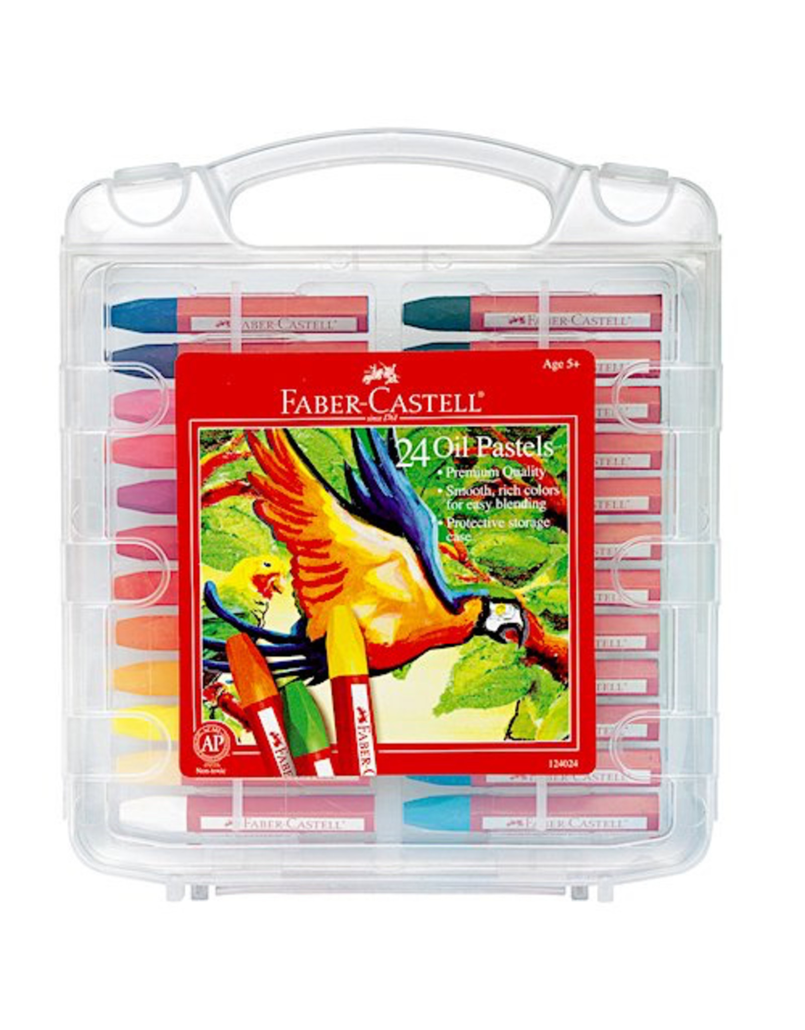 Faber Castell 24ct Oil Pastels