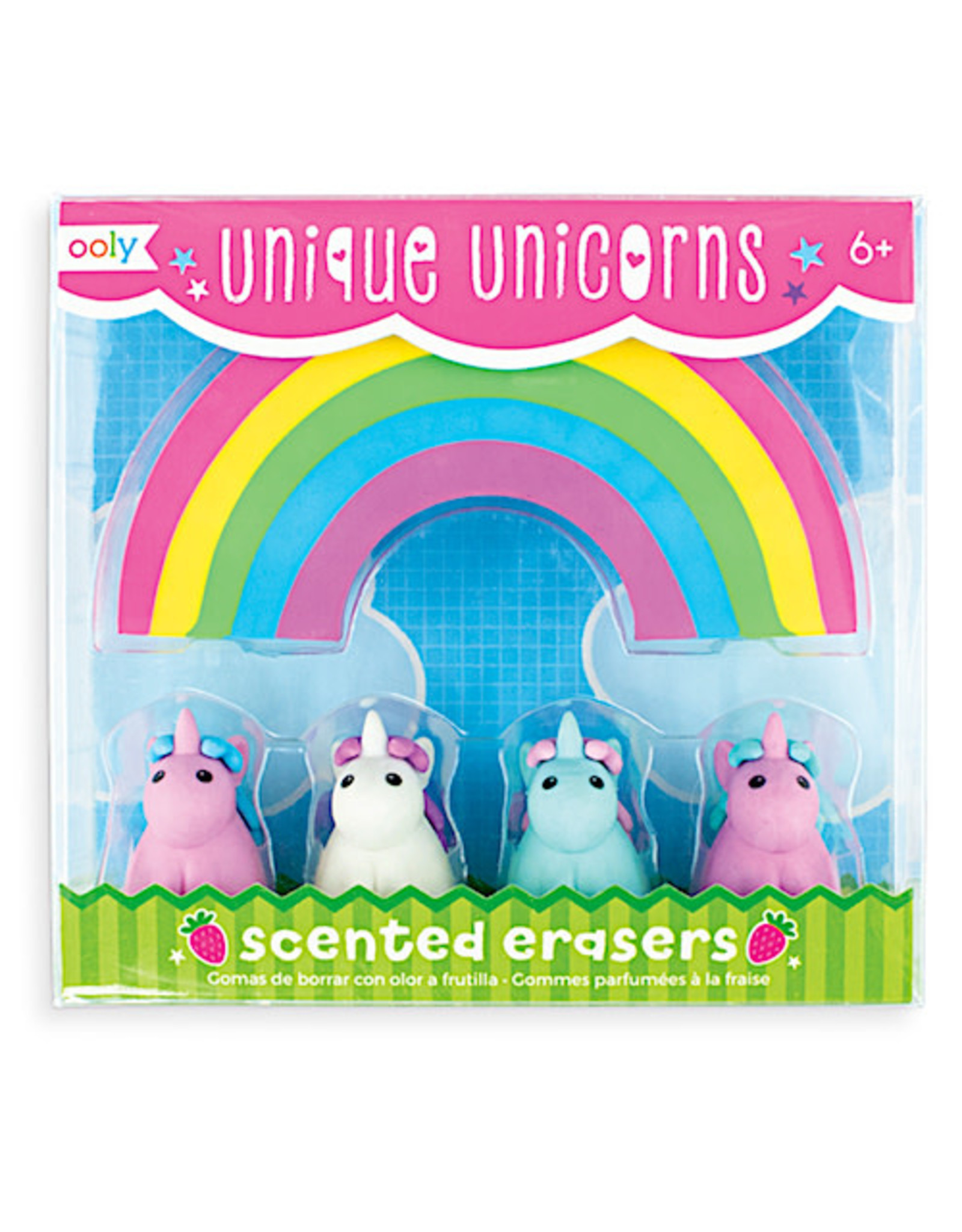 Ooly Unique Unicorn Scented Erasers